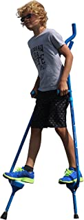 Flybar Master Walking Stilts(大号),高度可调节 - 适合 10 岁及以上儿童,体重达 200 磅
