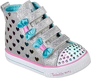 Skechers Shuffle Lite-Fancy Flutters 儿童运动鞋