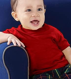 Rabbit Skins 婴儿 * 纯棉针织短袖 T 恤