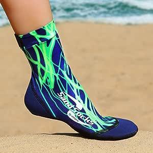 Sand Socks Vincere for Snorkeling,沙滩足球,沙色排球 Green Lightning X大码