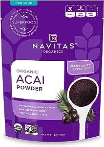 Navitas Naturals - 结冰干粉末Acai - 4盎司