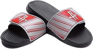 Forever Collectibles NBA 球队标志男士传统运动拖鞋 凉鞋