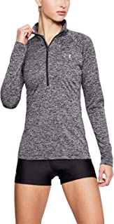 Under Armour 安德玛 New Tech 女式扭针半拉链跑步衫