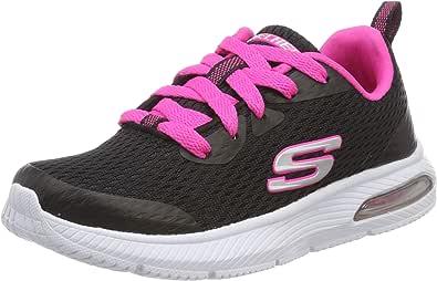 Skechers 斯凯奇 Dyna-air-Jump Brights 女童运动鞋 Schwarz (Black Hot Pink Bkhp) 27 EU