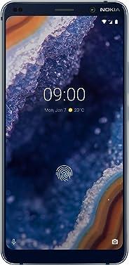 Nokia 诺基亚 9 PureView 5.99英寸 UK SIM-Free智能手机 6GB内存和128GB存储 - 蓝色