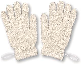 KOKUYAN FIT 丝绸 沐浴手套(2件)灰白色