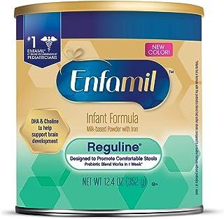 Enfamil 美赞臣铂睿 Reguline Constipation婴儿配方奶粉,12.4盎司(352g)-含Omega 3,铁
