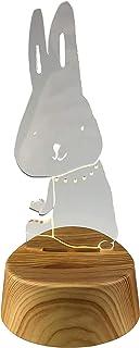 东洋盒 珠宝收纳 - W104×D85×H223mm LED饰品架 水晶 兔子 W104×D85×H223mm ART-ITR-01