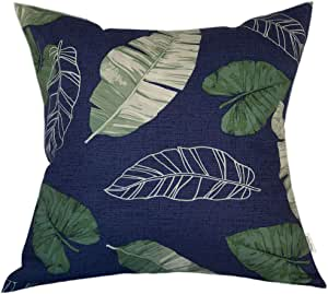 TangDepot * 纯棉装饰手工花卉叶子抱枕套/枕套/靠垫套,11 个尺寸可供选择