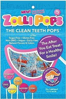 Zollipops 法國棒棒糖 牙齒清潔工具,預防蛀牙棒棒糖,多品種,25件裝