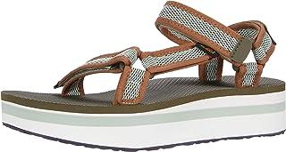 [泰瓦] 凉鞋 Flatform Universal Mesh Print 女士 1102451