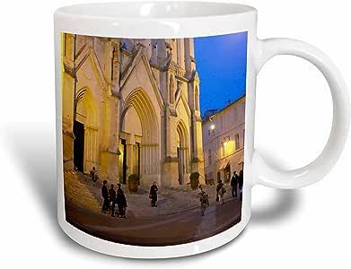 3drose danita delimont–教堂–ste ANNE 教堂, montpellier , LANGUEDOC ,法国–eu09pka1715–每 karlsson–马克杯 白色 15盎司
