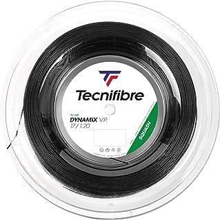Tecnifibre(Tecnifibre) 壁球用制动器、牙刷1.20mm 200m、DNAMX 1.20 TF DN120R 黑色 200m