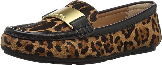 Calvin Klein 女式 lisette 一腳蹬樂福鞋