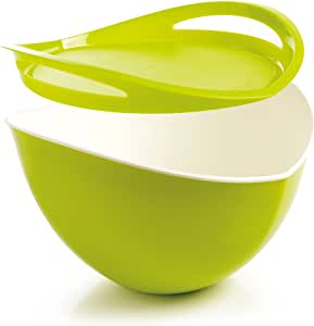 法国  多功能沙拉碗 绿色 Mastrad Salad bowl and tray - green