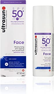 Ultrasun 优佳 脸部防晒霜 抗衰老 SPF50,50毫升