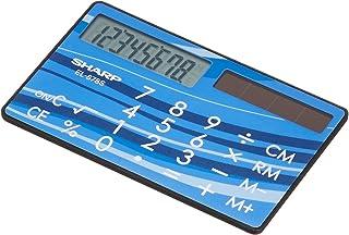 夏普 计算器 EL-878S-X 卡・信用卡类型