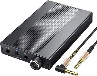 Proster 耳机放大器 便携式放大器 3.5 毫米音频可充电 HiFi 耳机 USB 放大器