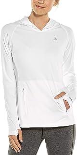 Coolibar 女式 Upf 50 Plus Zno Cowl 领套头衫