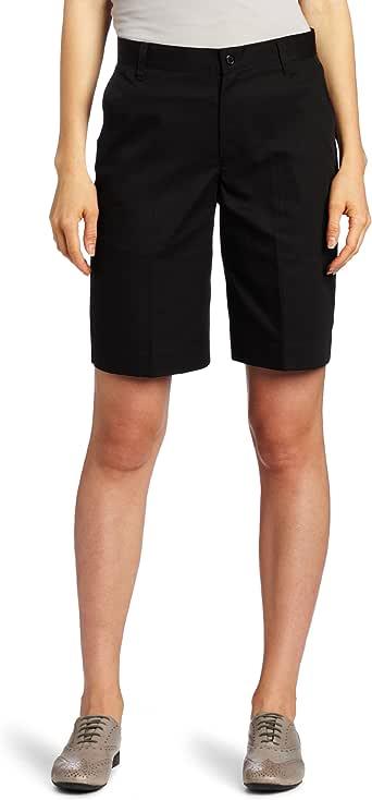 CLASSROOM 青少年无褶 Bermuda 短裤 黑色 1/2