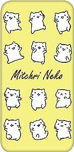 Mitchiri 猫 手机壳 透明 TPU 印刷 白色系列WN-LC1136030 21_ Google Pixel 3 G013A みっちりねこホワイトシリーズB