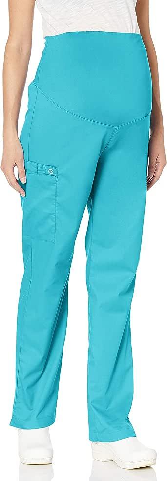WonderWink 女士神奇孕妇裤 浅绿(Light Turquoise) Large