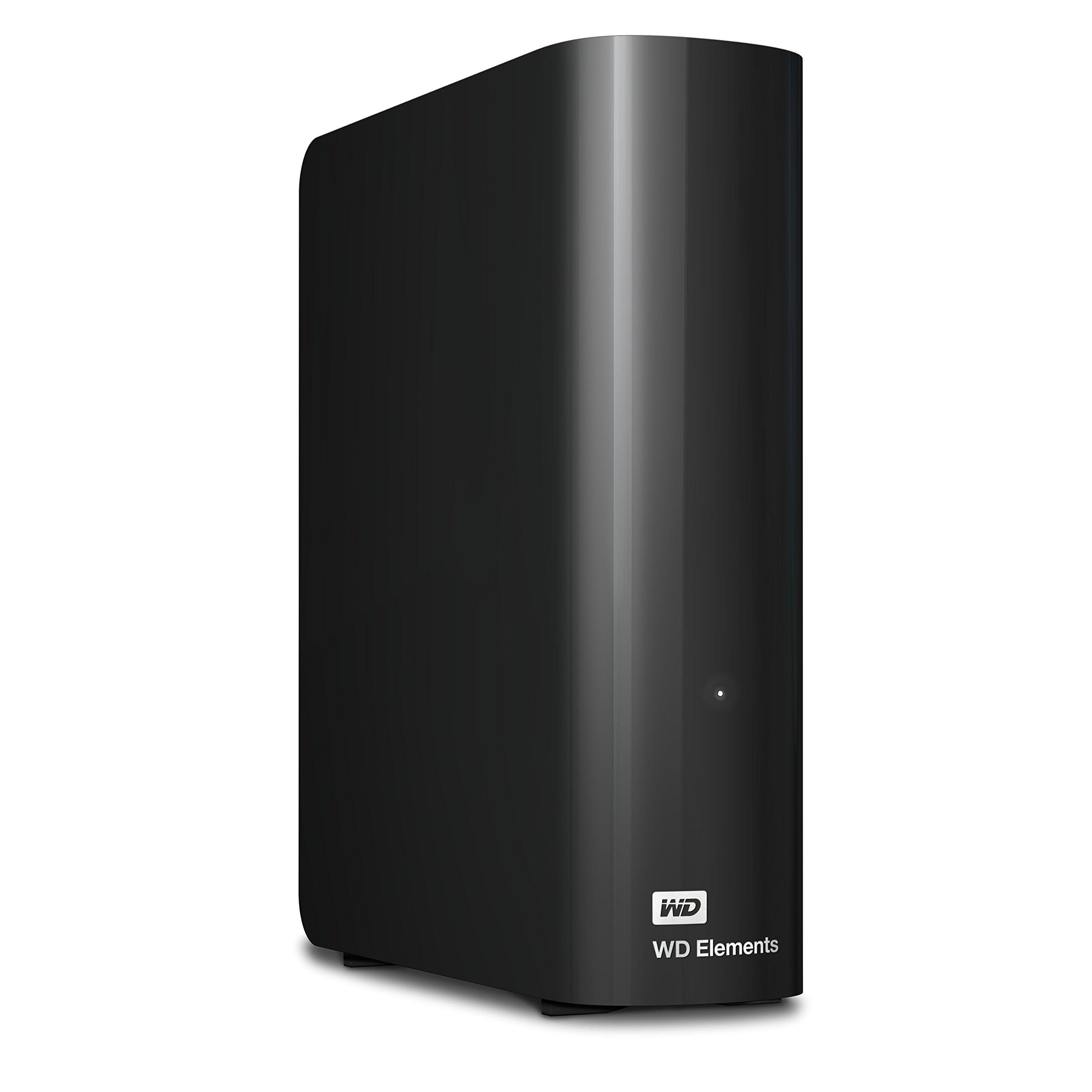 Western DigitalのWestern Digitalの10TBの要素デスクトップのハードドライブ -  USB 3.0 -WDBWLG0100HBK-NESN