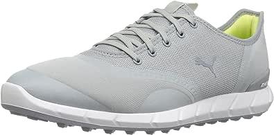 PUMA 女士 Ignite Statement 低帮高尔夫球鞋 石榴/白色 6