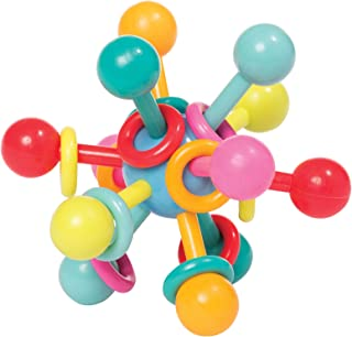 Manhattan Toy Atom 拨浪鼓和牙龈抓咬 婴儿玩具