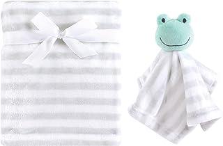 Hudson Baby 毛绒毯和动物*毯套装 青蛙 均码