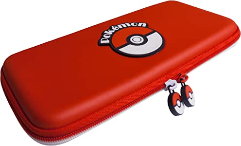 HORI 任天堂 Switch Poke Ball Tough Pouch 由 Nintendo & Pokemon 官方* - 任天堂 Switch