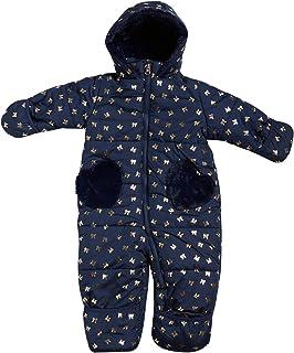 Jessica Simpson 女宝宝防雪服,夏尔巴内衬兜帽(新生儿/婴儿)