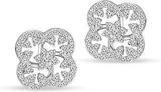 友好钻石实惠豪华钻石耳环 10KT 金钻石女式耳环 钻石耳钉钻石耳环女式钻石 耳环(VS-GH 品质,精良切割,0.1-1.50 克拉)