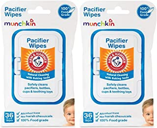 Munchkin Arm & Hammer 清洁消毒湿巾 白色 72份