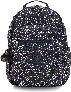 Kipling 凯浦林 Seoul 书包,44 厘米 Multicolour (Happy Dot Pr) Multicolour (Happy Dot Pr)