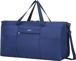 Samsonite 新秀丽 Global Travel Accessories – 可折叠旅行行李袋,55 厘米 蓝色(午夜蓝) 蓝色(午夜蓝)