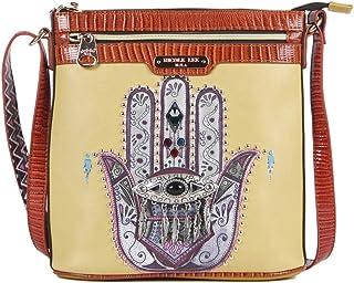 Nicole Lee Kiera Hamsa Charm Embellished Cross Body Bag