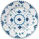 Royal Copenhagen 皇家哥本哈根 Blue Fluted Full Lace 全花邊唐草系列 盤 17厘米 1103617