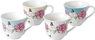 Royal Albert Miranda Kerr 4 件套马克杯,瓷器,多色 13.2 x 10.4 x 9 厘米
