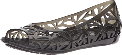crocs 伊莎贝拉果冻 II 平底女式凉鞋