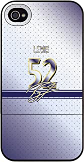 Coveroo Slider Hard Case for iPhone 4/4S - 1 Pack - Retail Packaging - Color Jersey Ray Lewis