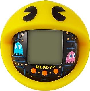 BANDAI 萬代 Tamagotchi Nano-Pac-Man 黑色版 帶盒喂養、護理、護理、護理、帶鏈條 適合外出玩耍 電子寵物 42862