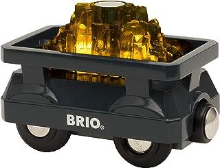 BRIO World - 发光金车轮