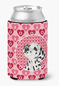 Dalmatian Hearts Love and Valentine's Day Portrait Michelob Ultra Koozies for slim cans SS4492MUK 多色 Can Hugger