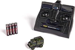 Carson 1:87 MB Unimog U406 迷彩 * RTR,遥控车,驾驶型,带 LED 照明,非常小的转向圆圈,非常适合立体感,500504127,多色