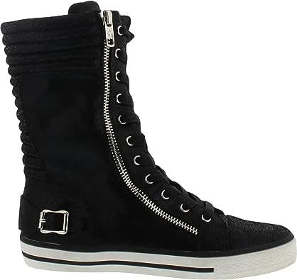 Ash 儿童 Vava Cate 运动鞋 黑色 1 M US 儿童