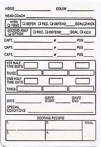 Adams Football referee 擦拭 可重复使用的参考游戏卡