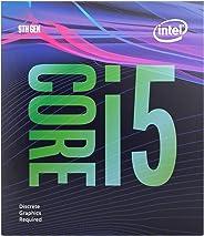 Intel Core i5-9400F 台式处理器 6 核高达 4.1 GHz 涡轮无处理器 Graphicslga1151 300 系列 65W 处理器 999CVM