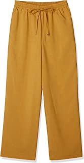 NATURAL BEAUTY BASIC 裤子 亚麻轻便运动裤 女士 017-0139703