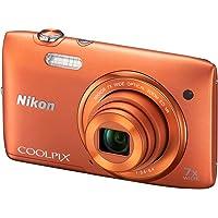 Nikon 尼康 COOLPIX S3500 便携数码相机 (橙色)